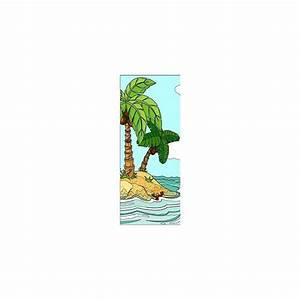Papier Peint Sticker : papier peint porte enfant palmiers 720 stickers muraux ~ Premium-room.com Idées de Décoration
