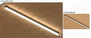 24w 36w 48w 60w Surface Mounted Linear Led Ceiling Light