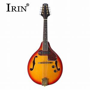 New Irin Electric A Style Classic Spruce Acoustic Mandolin