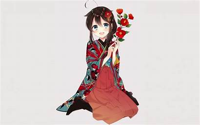 Shigure Kancolle Widescreen Anime