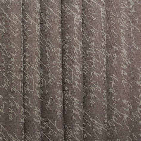 Script Upholstery Fabric by Vintage Bicycle Retro Script Map Woven Linen Look