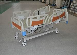 Cpr Function Clinic Electric Bed With Collasible Abs Side