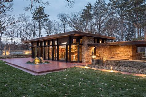 frank lloyd wright designed home  inspiring renovation