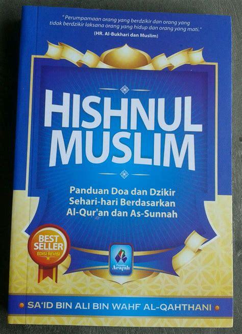 buku saku hishnul muslim panduan doa dzikir sehari hari toko muslim title