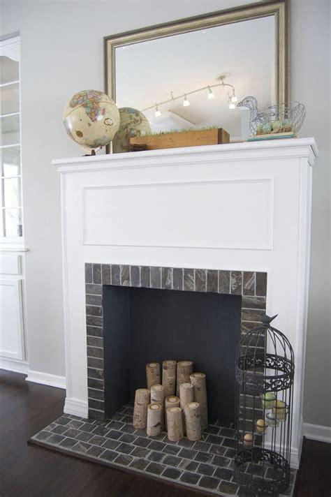 faux fireplace mantels ideas  pinterest