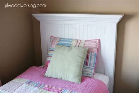 ana white build a twin bed beadboard headboard free