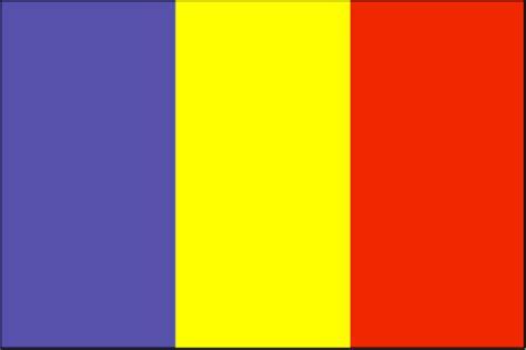 chad flag  description