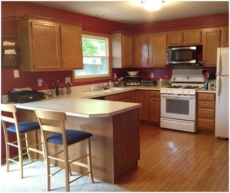 kitchens with oak cabinets and white appliances kitchen paint colors with oak cabinets and white 9858