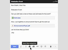 Official Gmail Blog Gmail and Drive a new way to send files