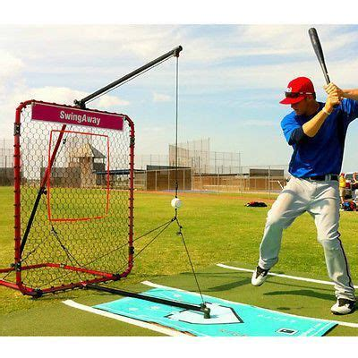 baseball batting machine hitting solo practice training