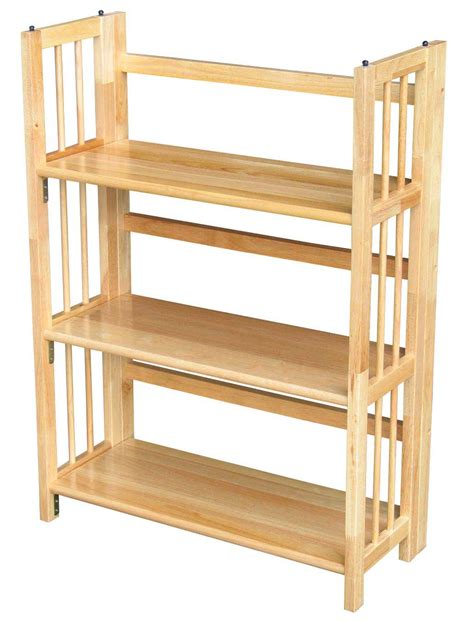 Folding Wood Bookcase by Folding Book Office Furniture