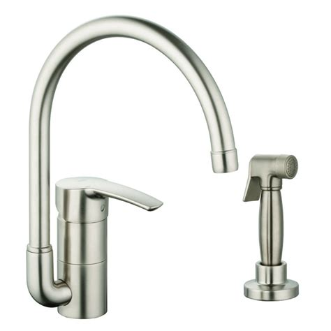 kitchen faucet with spray grohe eurostyle single handle single standard kitchen