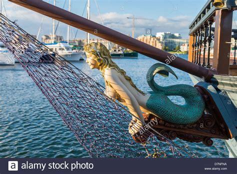 Ship Figurehead by Mermaid Ship S Figurehead Stock Photo Royalty Free Image