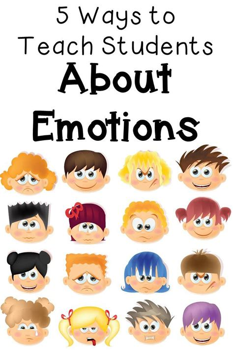 best 25 teaching emotions ideas on emotions