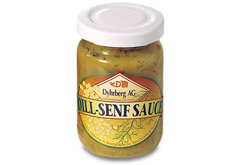 dill senf sauce dill senf sauce quot dyhrberg quot glas 224 100 g