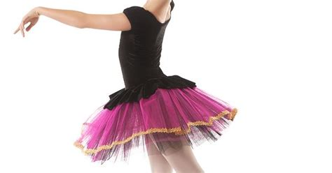 Details About Hot Pink & Black Imperial Tutu With Gold