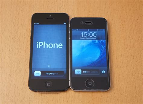 iphone 4 vs iphone 5 iphone 5 review the best iphone touchmyapps