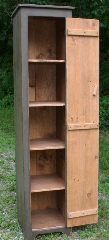 tall country cupboard primitive painted furniture