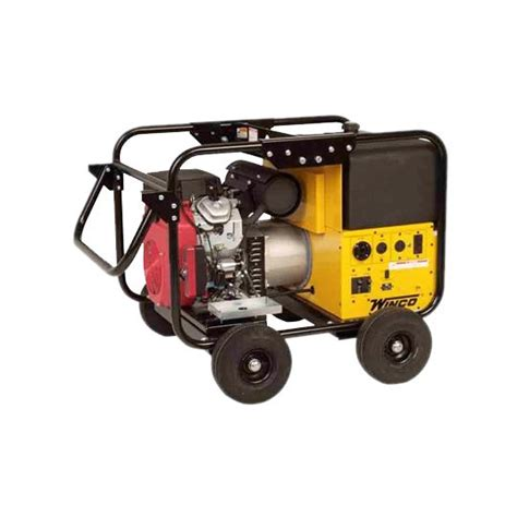 But exactly how much power do you need? Winco 12kw Generator with Non-Flat Lite Tires