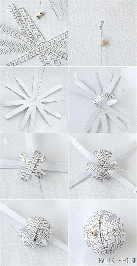 decoration de noel en papier origami ou kirigami