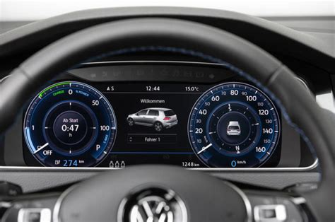 volkswagen dashboard 2017 volkswagen e golf review now with 200 kilometers