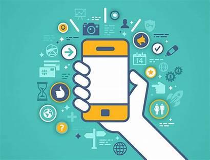 Graphics Vector Digital Phone Illustrations Social Cell