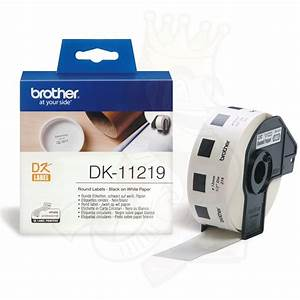 brother dk11219 dk 11219 brother king With circle label printer