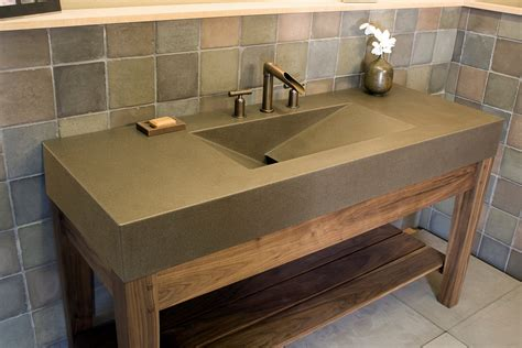 kitchen faucets modern bathroom contemporary brown lacquered mahogany open shelf