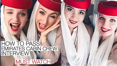 Cabin Crew Emirates by How To Pass Emirates Cabin Crew Must
