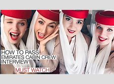 HOW TO PASS EMIRATES CABIN CREW INTERVIEW MUST WATCH YouTube