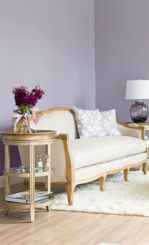 Living Room Wallpaper Lilac by Lilac Shades You Need The Right Lighting For This Color
