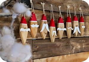 Décoration De Noel à Fabriquer En Bois : decoration noel fabriquer bois ~ Voncanada.com Idées de Décoration