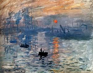 Impression Sunrise Claude Oscar Monet Reproduction | 1st ...