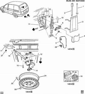 Chevrolet Venture Jack And Miscellaneous Wrench  Accessory