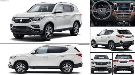 ssangyong rexton  pictures information specs