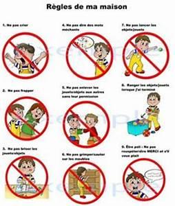 Regle De La Maison A Imprimer : exemple tableau regle de la maison pour enfant a imprimer ~ Dode.kayakingforconservation.com Idées de Décoration