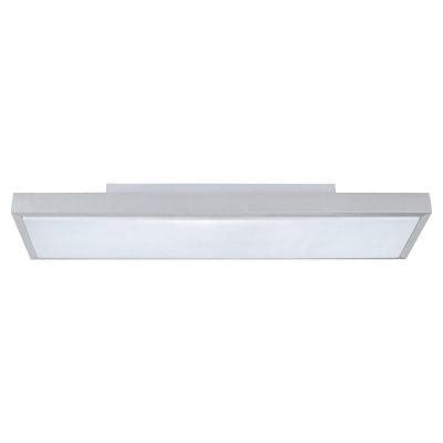 eglo idun 1 matte nickel led ceiling light 93776a the