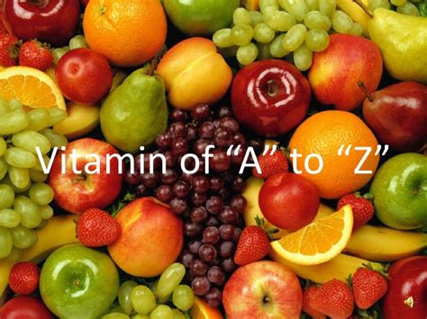 vitamin slideshare