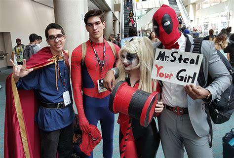 Doctor Strange, Spider-man, Harley Quinn, And Deadpool
