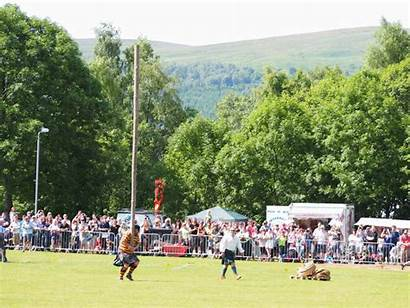 Caber Highland Games Tossing Toss Animated Balloch
