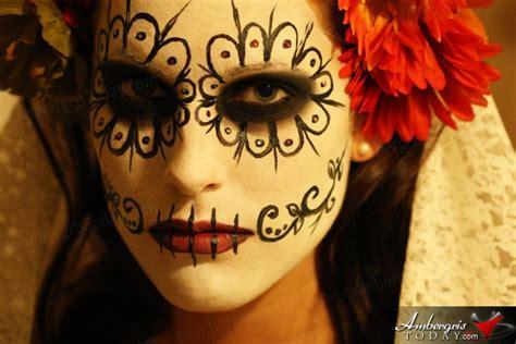 Stage Makeup Morgue Dia De Los Muertos