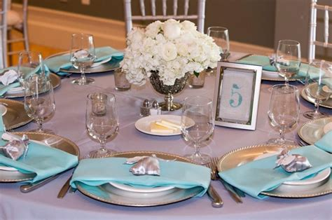 Wedding Table Numbers Beach Wedding Decor Teal Or Blue