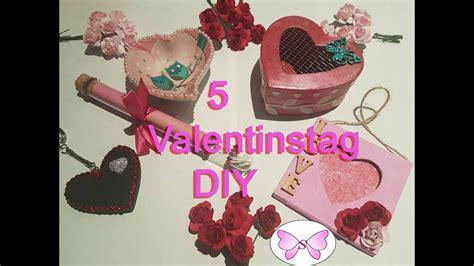 5 Einfache Valentinstag Diy Geschenk Ideen, Valentinstag