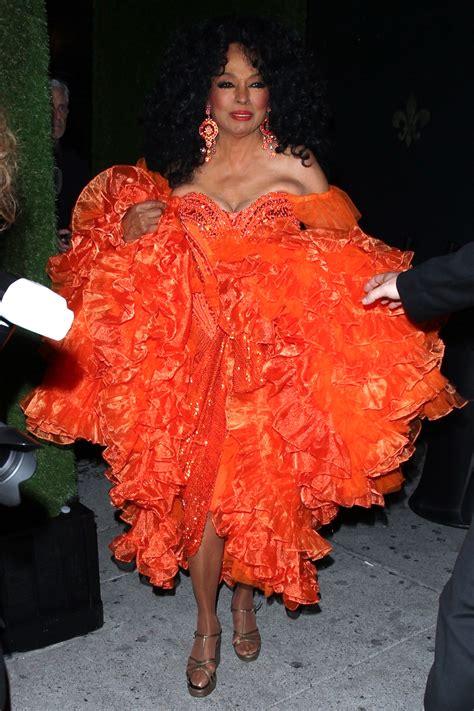 khloe kardashian wears gold gown  diana ross birthday