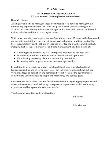 Cover Letter Exles by Fitness Director Description All Photos Fitness
