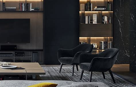 bookcase with legs mad chair poliform armchairs and sofas