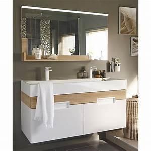 beautiful miroir salle de bain lumiere integree With miroir de salle de bain avec éclairage et tablette