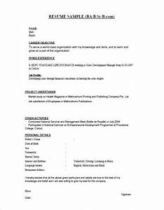 16 resume templates for freshers pdf doc free premium templates for Resume templates for freshers