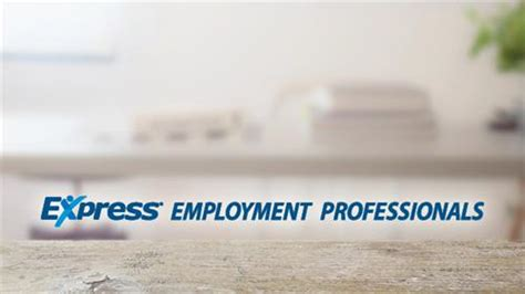 express employment professionals employment services