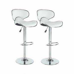 Tabouret De Bar York Blanc